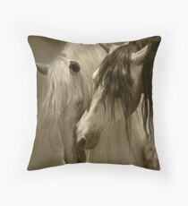 The beauty of the Horse.  Throw Pillow
