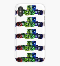 A dices for happines! by zimmystyle iPhone Case