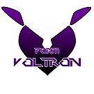 Valentine's Special Heart Series - Voltron Shiro symbol T-shirt Design by k-lionheart