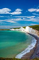 Seven Sisters, Sussex by Mark Bangert