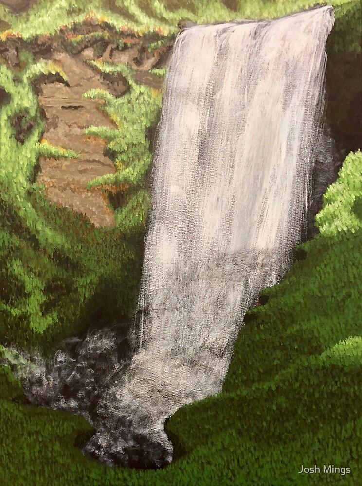 Skogafoss Waterfall, Iceland by Josh Mings