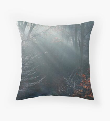 frosted magic Throw Pillow