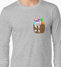 Easter Bunny Basket Long Sleeve T-Shirt