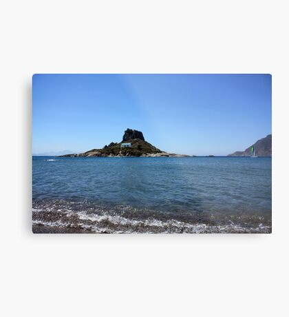 ... swim to church ... ;) Metal Print