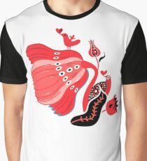 Seamless floral bright pattern Graphic T-Shirt