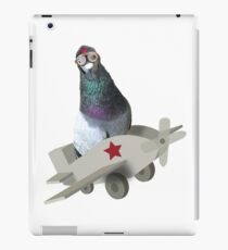 pigeon in a plane iPad Case/Skin