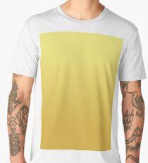 Bright Limelight Yellow Ombre to Ceylon Yellow Men's Premium T-Shirt