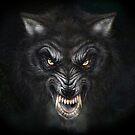 Dark Wolf von PeterSiedlArt