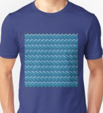 Rippled Blue    Unisex T-Shirt