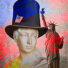 Ladies Of Liberty by Larry Costales