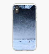 Hockey on Lake Louise iPhone Case
