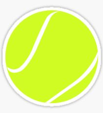 Tennisball-Grafik Sticker