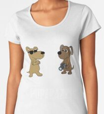 Puparayyi-Puppy photographer Women's Premium T-Shirt