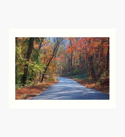 Kentucky Country Road Art Print
