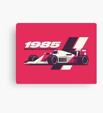 F1 World Champion 1985 Prost Canvas Print