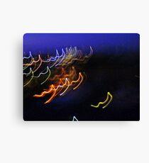 light strings singalong Canvas Print