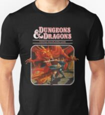 dungeons and dragons red box - fantasy tsr Unisex T-Shirt