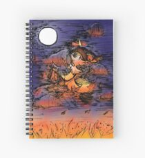 The Great Witch Braxien Spiral Notebook