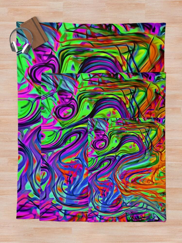Alternate view of Transcendental Throw Blanket