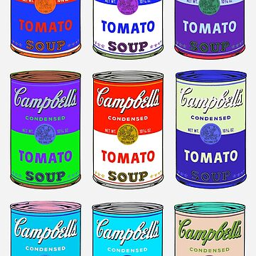 Andy Warhol Campbell Soup Cans  by jasmineGold