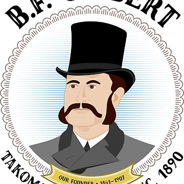 B.F. Gilbert, founder of Takoma Park, Maryland by southpawmiller