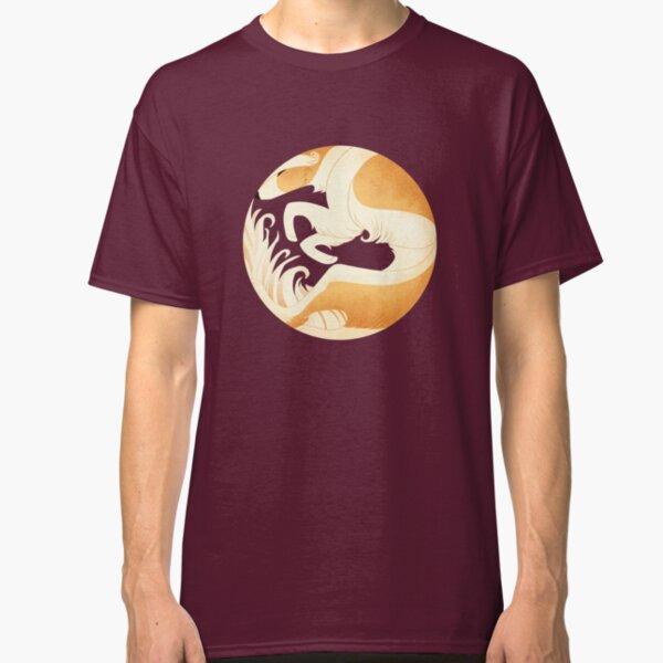 Geometric dogs - Borzoi T-shirt classique
