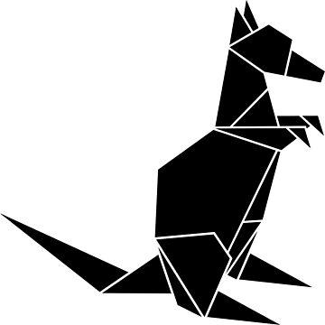 Origami Kangaroo by CalumLamb