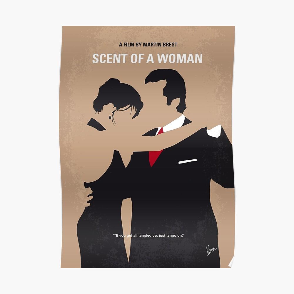 No888 My Scent einer Frau minimal Filmplakat Poster