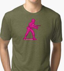Toy Soldier [pink] Tri-blend T-Shirt