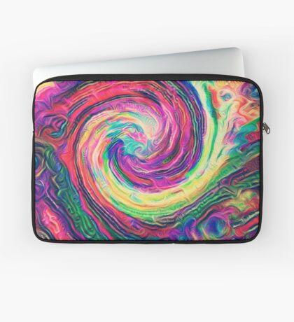 Swirl hook #Digital #Art Laptop Sleeve