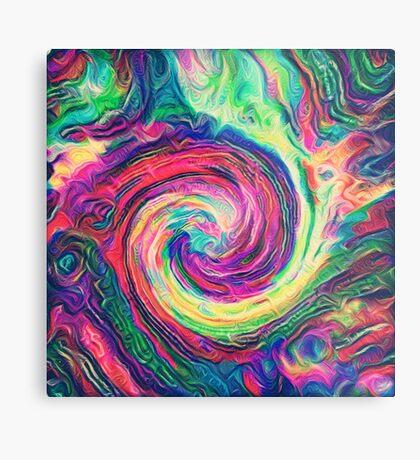 Swirl hook #Digital #Art Metal Print