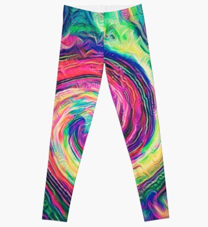 Swirl hook #Digital #Art Leggings