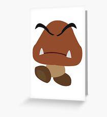 Goomba   Nintendo Greeting Card