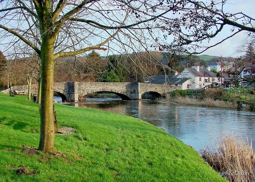 LLanrwst North Wales, UK by AnnDixon
