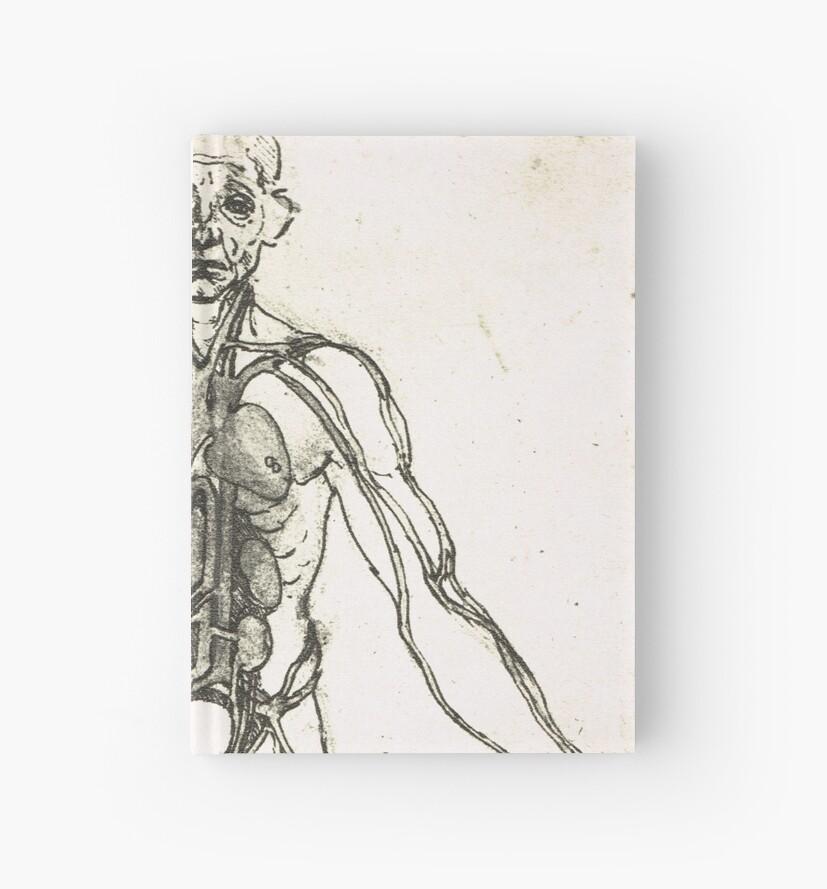 Cuadernos de tapa dura «Figura anatómica de un hombre, para mostrar ...