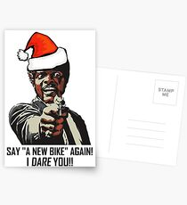 Samuel Jackson Say A New Bike Again Postcards