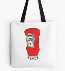 Large Ketchup Bottle Tote Bag