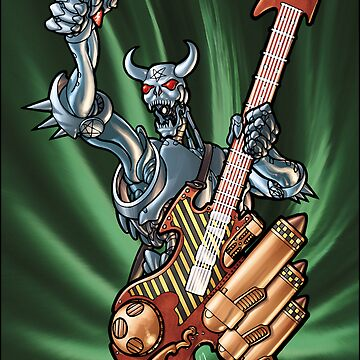 Missile Guitar 002 by IanSokoliwski