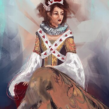 Queen of Hearts by Wildflower-Art