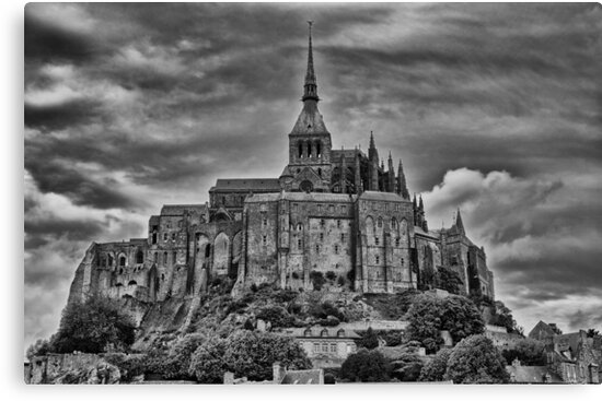 Le Mont Saint Michelle by Mark Bowden
