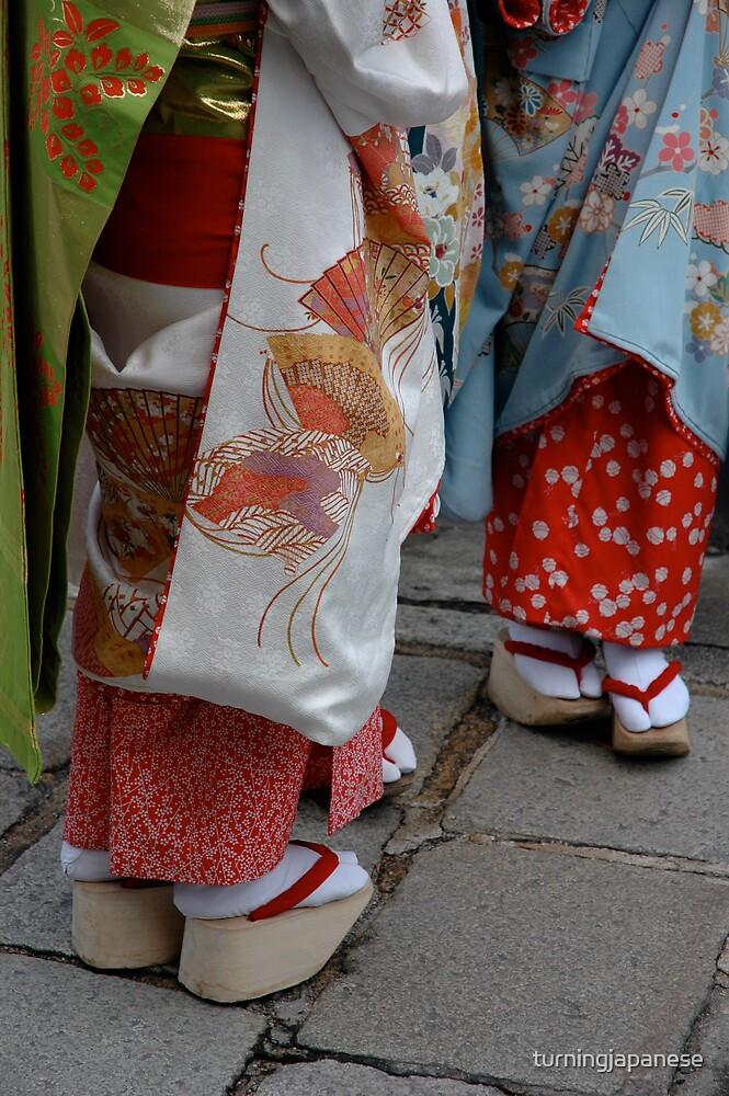 Geisha toes by turningjapanese