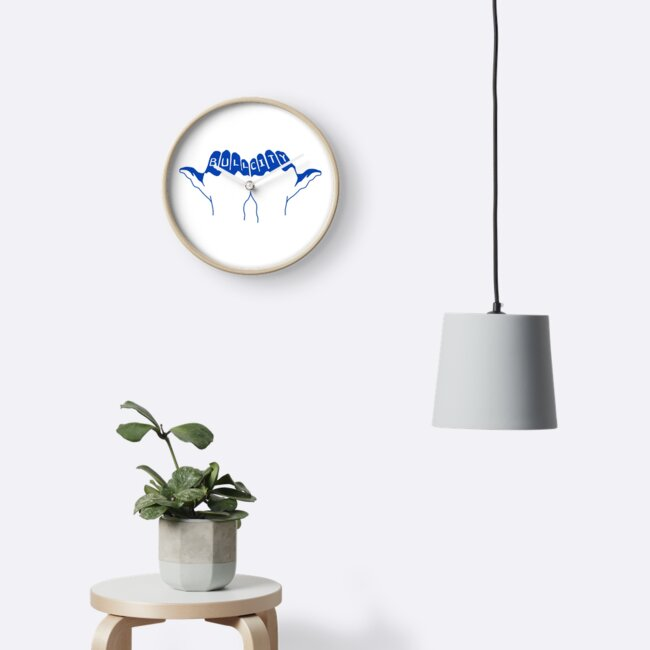Duke Bull City Durham Nc Clocks By Rosiesokoll Redbubble