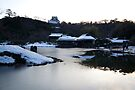 Hikone-jo - Winter dusk by Glen O'Malley