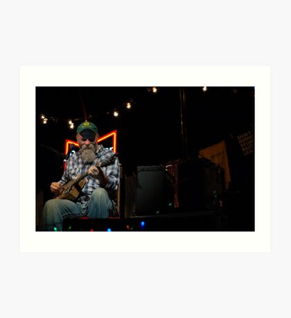 Seasick Steve: Still Live at Leeds! Art Print