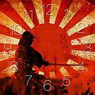 Samurai Clock by Naf4d