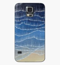 Shiny Sea - Bioluminescenct Watercolor Pattern Case/Skin for Samsung Galaxy