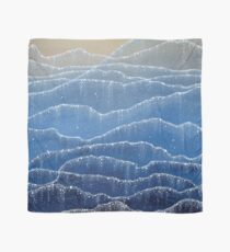 Shiny Sea - Bioluminescenct Watercolor Pattern Scarf