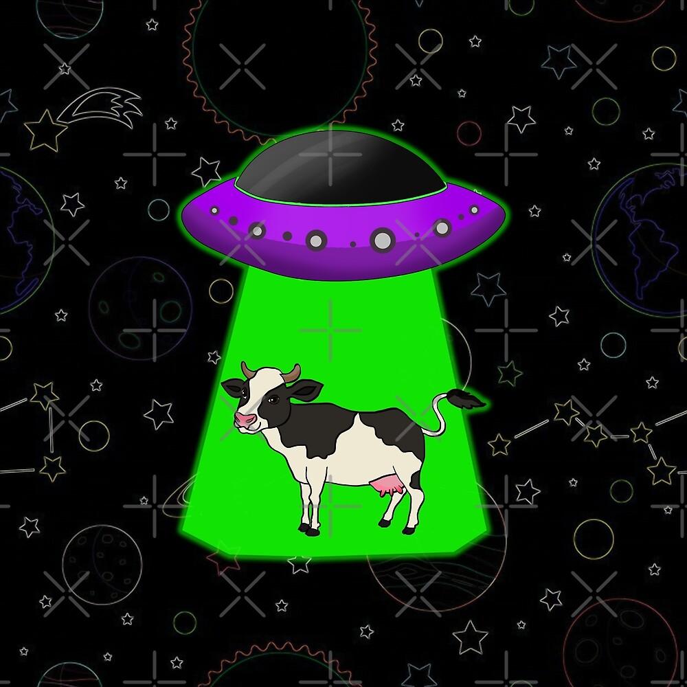 Alien Abduction by Barnyardy