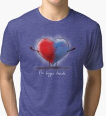 bigger inside Tri-blend T-Shirt