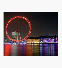 London Eye Photographic Print